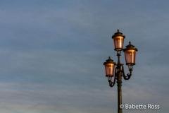 Dusk Streetlight