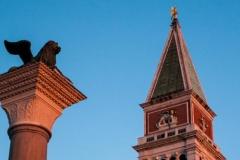 Campanile, Italy, Lion of Venice Column, Piazza San Marco