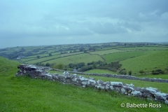 Road to Carreg Cennen Castle